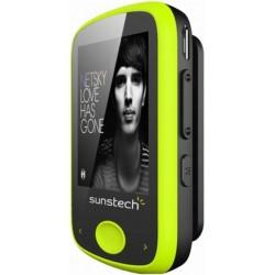 SUNSTECH REPRODUCTOR MP3 IBIZA GREEN 4GB