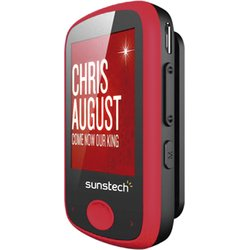 SUNSTECH REPRODUCTOR MP3 IBIZA RED 8GB