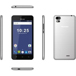 HISENSE TELEFONO GSM LIBRE T5 PLATA