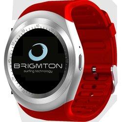 BRIGMTON SMARTWATCH BWATCHBT7R ROJO