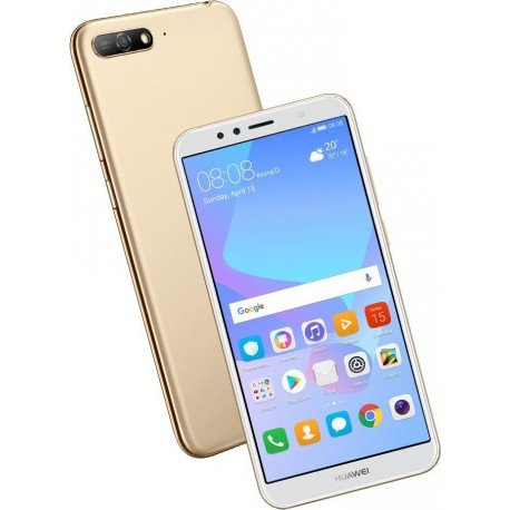 HUAWEI TELEFONO GSM LIBRE Y6 2018 ORO