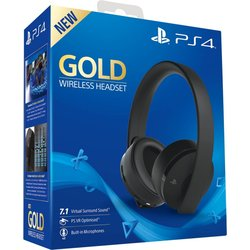 SONY AC CONSOLA HEADSET GOLD