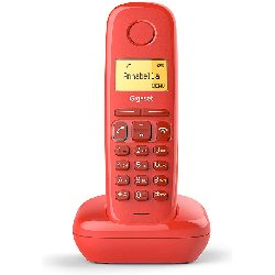 GIGASET TELEFONO INALAMBRICO A170 ROJO