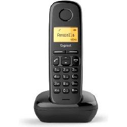 GIGASET TELEFONO INALAMBRICO A170 NEGRO
