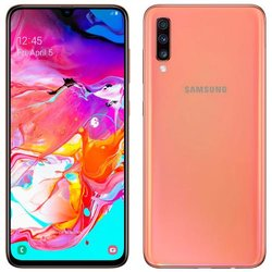 SAMSUNG TELEFONO GSM LIBRE A70 CORAL
