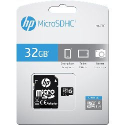 HP TARJETA MEMORIA SDU32GBHC10HPEF
