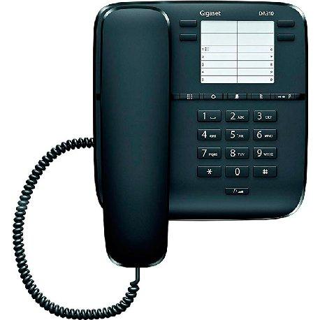 GIGASET TELEFONO DA310 NEGRO